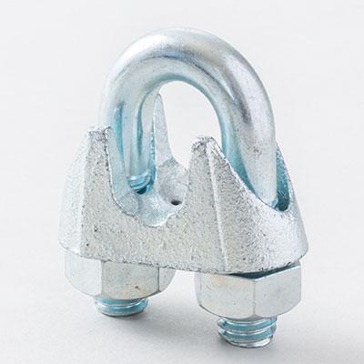 鋳物製ワイヤクリップ